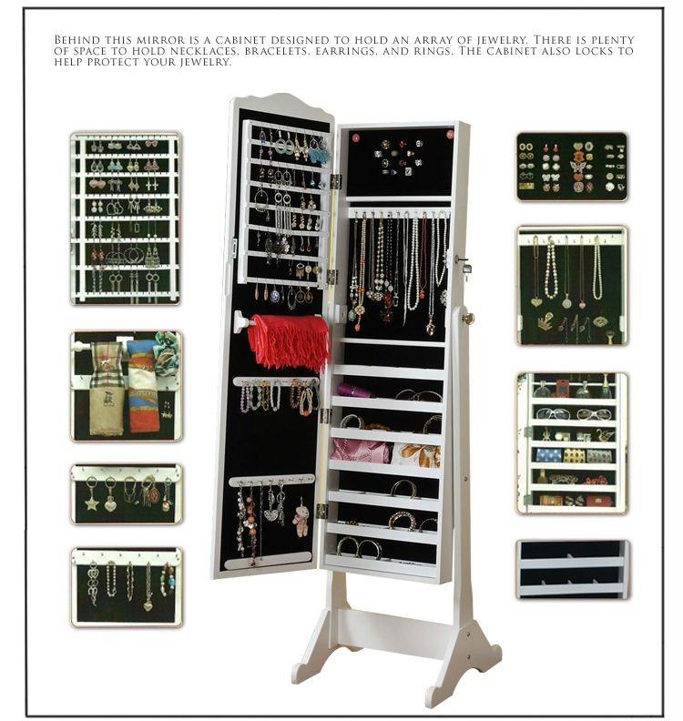 Aparadores Olaio ~ Espejo madera armario de la joyería Armarios de madera Identificación del producto 632045240
