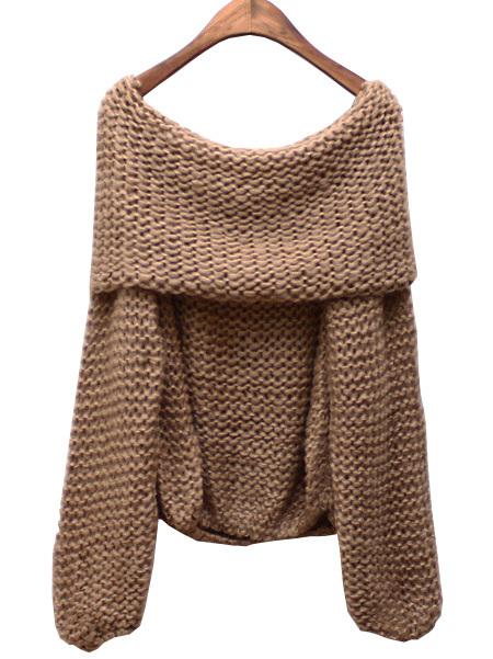 Cheap Knit Off Shoulder Sweater, find Knit Off Shoulder Sweater ...