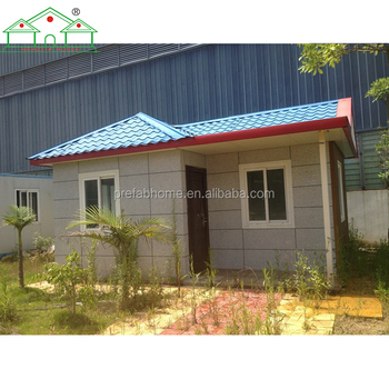 Prefabricated house color
