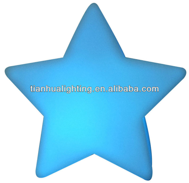 Color Changing Star Shaped LED Light