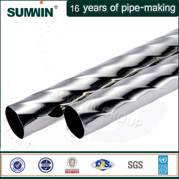 Factory price hot selling sus 316 stainless steel pipe from China