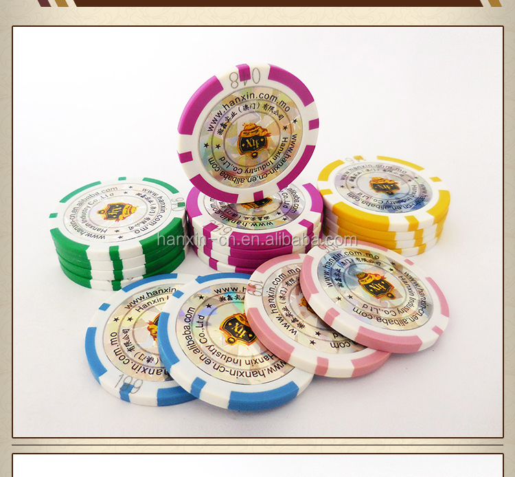 ABS Plastic Metal Core Poker Chips