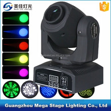 pro mounted excellent Christmas Eve party decoration light dmx 12w beam led moving head spotlight