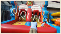 2013 commercial inflatable sport games for adults and kids