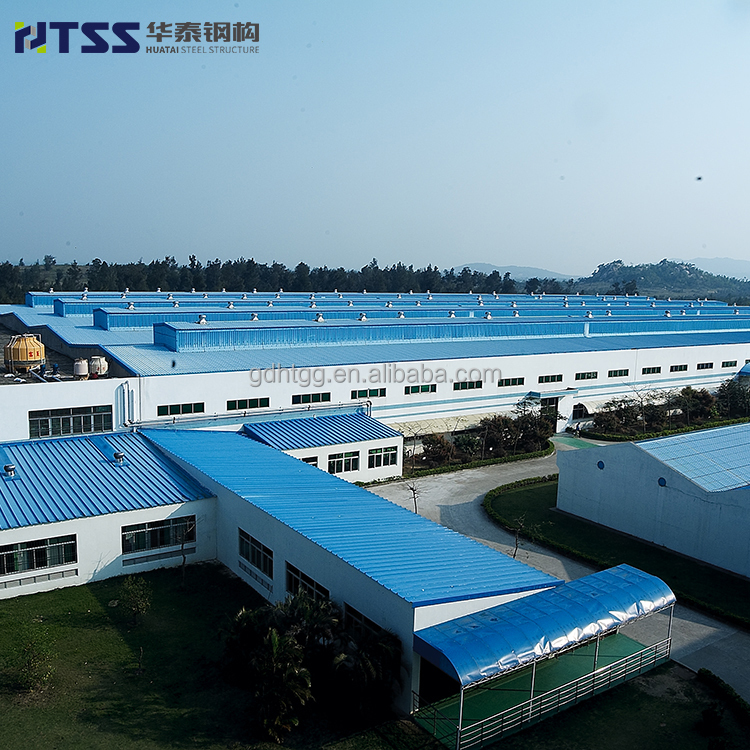 ISO9001 Prefab designed warehouse building modular warehouse steel structure workshop