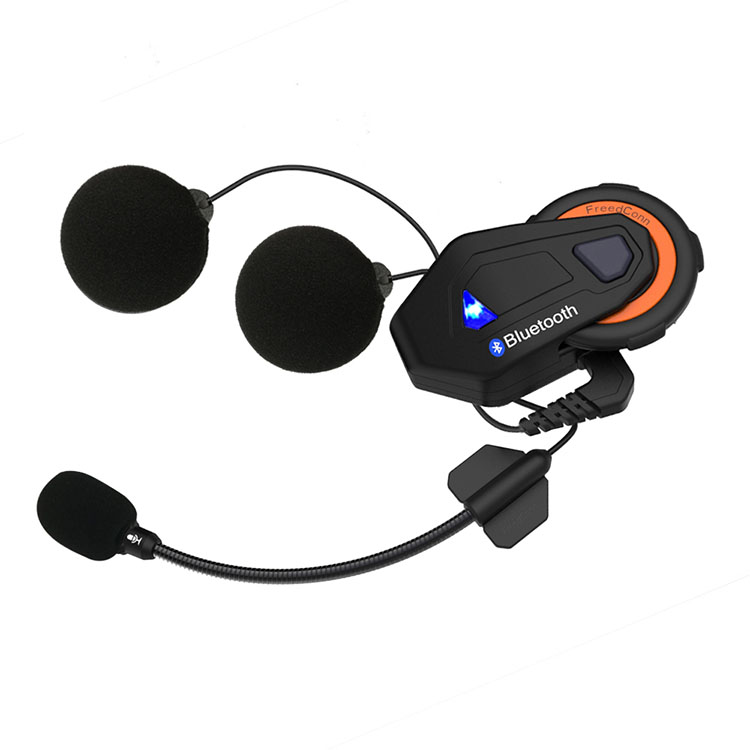 T-max Casque Bluetooth Casque 6 Coureurs Parler de Groupe FM Radio 1000 M Bluetooth 4.1 Intercom moto