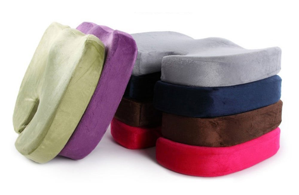Neck Pillows neck pillow for sleeping pain New Memory Foam Seat Cushion Office Chair Car Seat Back Relief Orthopedic neck pillow for sleeping pain Random color