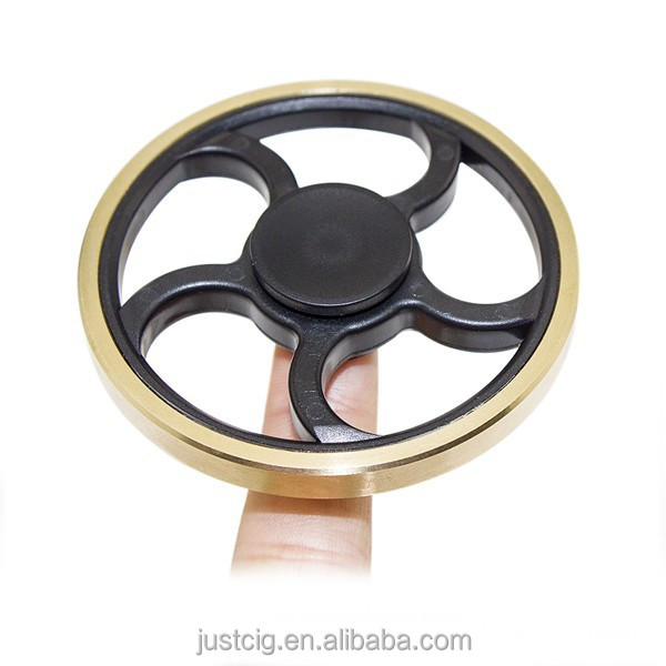 2017 trending products hot abs plastic fidget toy hand spinner steering wheel spinner