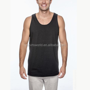 Sublimation Printing Men Vest Tank Top Fashion Custom Seamless Gym Singlet Wholesale