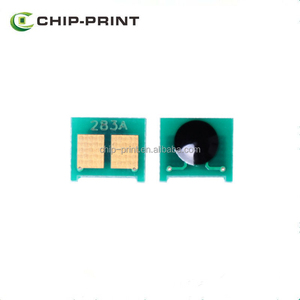 Cartridge toner chip CF283X for HP M201n toner chip resetter