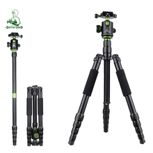 New SYS700 aluminum professional tripod monopod for DSLR with ball head / stand / photo tripod is better than Q666