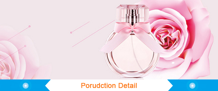 25ml Round Clear Glass Cosmetic Packing Perfume Sprayer Bottle