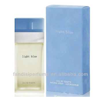 light blue perfume