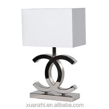 Td49 Black White Modern Cc Table Lamp Bedside Table Lamp White ...