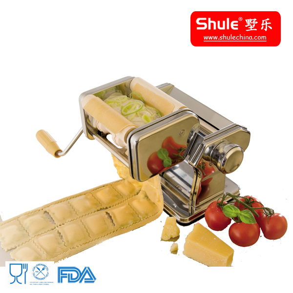 shule pure hand operated Making Ravioli Pasta Machine For House Kitchen assistant three kind of dumpling