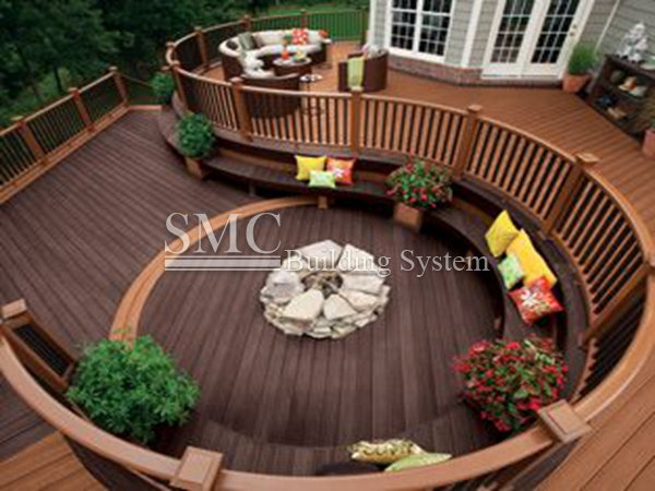 Wood Plastic Composite Furniture Material Wood Plastic Composite
