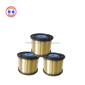 Brass Coated Steel Wire For Brush Tensile 2450-2750 Mpa - Buy 0.25mm ...