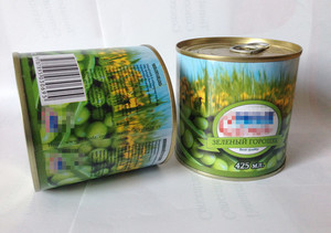 400g 425ml best of quality canned green peas for  RUSSIA,ARMENIA,KAZAKHSTAN,GEROGIA