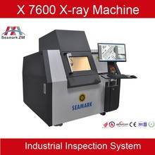 Easy operation PCB QFN inspecting system automatic X-ray machine X7600 for SMT manufactuer