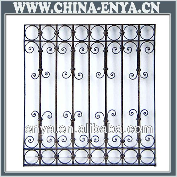 Decorative Steel Window Grill Design