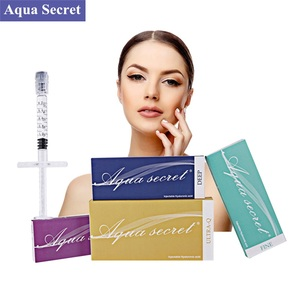 Dermal fillers liquid injections hyaluronic acid ce fda