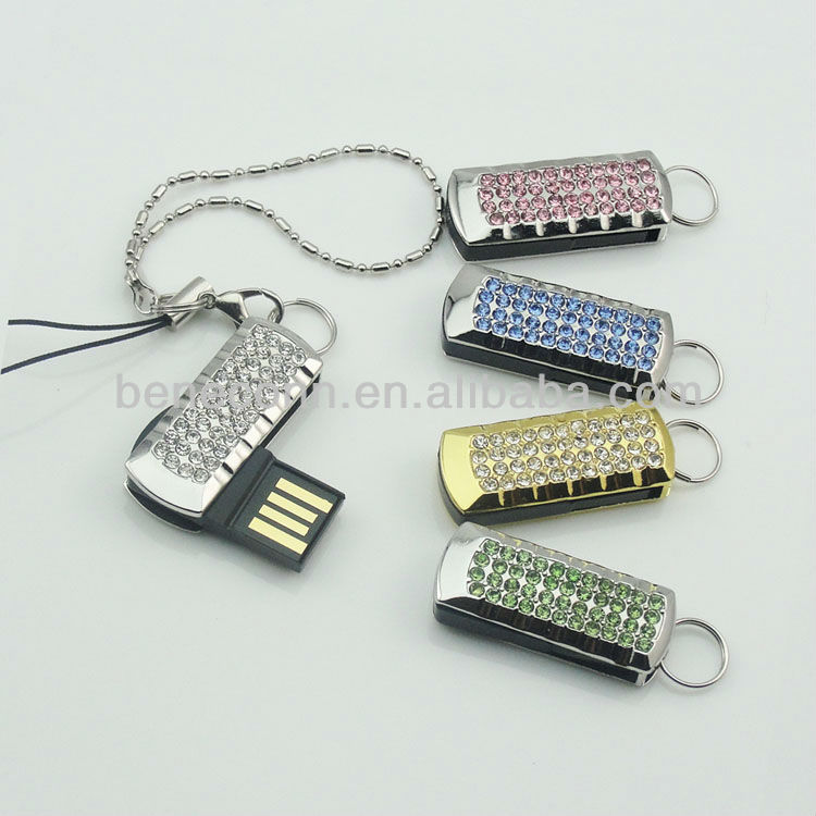 Funny Shape Usb Memory Stick Crystal Gift
