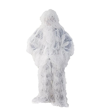 Outdoor Winter Sneeuwwitje <span class=keywords><strong>Camo</strong></span> Jungle Hunting Ghillie Sniper Pak Set Bird Watching gillie pak
