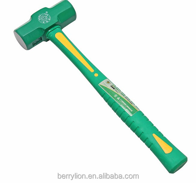 Berrylion 2pound Stone Hammer Double-face Sledge Hammers
