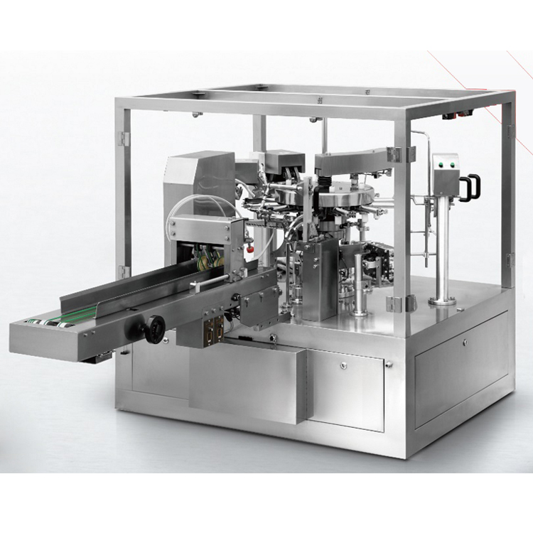 full automatic juice lemon tea powder rotary packing machine