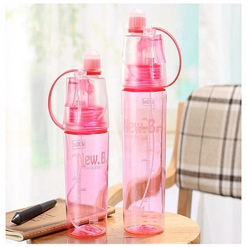 Hot sale plastic water bottle 600ml
