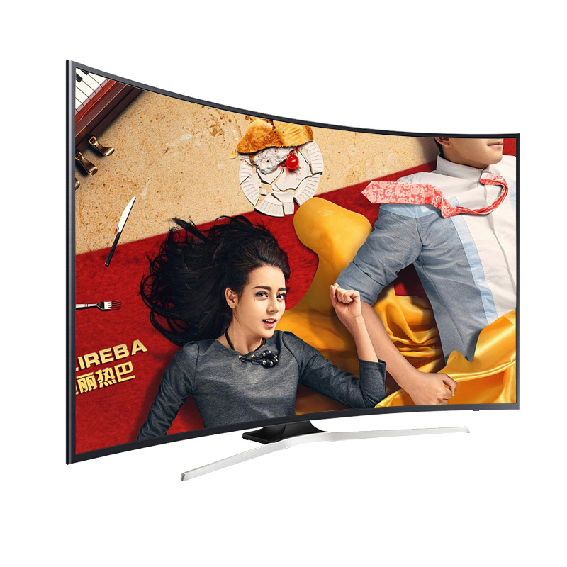 2019 Newest Model 65 inch HDR 4K Curved Android Smart LED <strong>TV</strong> with best resolution 3840*2160 and WIFI and Mobile display
