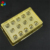 Vacuum Forming Gold Plastic Chocolate Blister Insert Tray