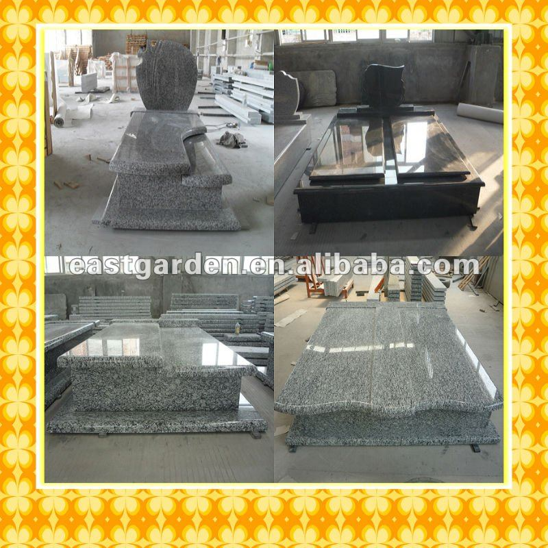 European Styles Granite Tombstone