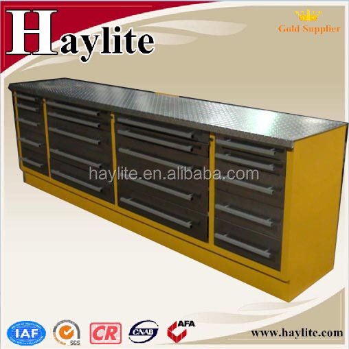 stainless steel workshop drawer tool cabinet with drawers