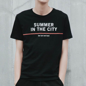 Newly black fancy design t-shirt manufacturers in usa
