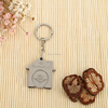 promotional stainless steel mini gps tracker keychain