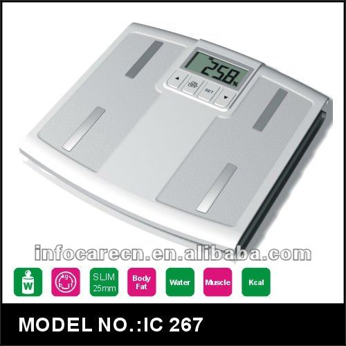 Digital Body Fat/Water/Calorie/Muscle/Bone Density Analyzing Scales