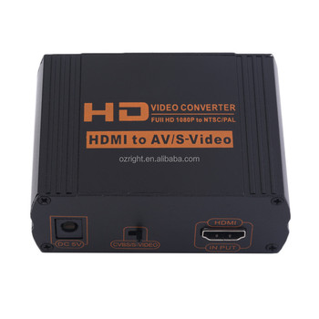 The New Fast Delivery Hdmi To Composite/s-video Converter Scaler ...