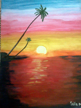 Sunset Buy Landscape Painting Product On Alibabacom