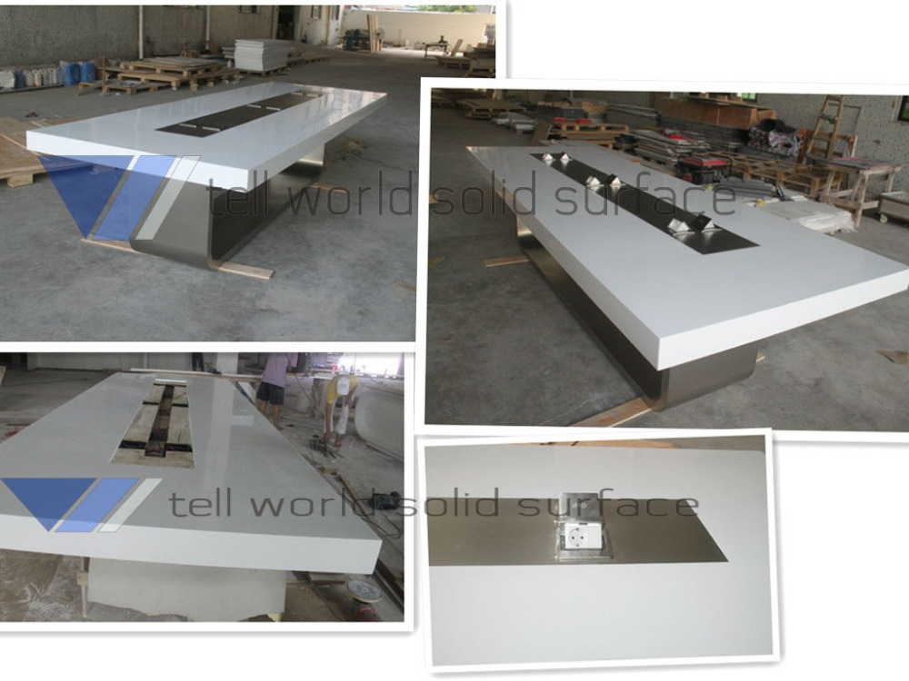 China Office Furniture Quality Conference End Desk Acrylic Meeting ...