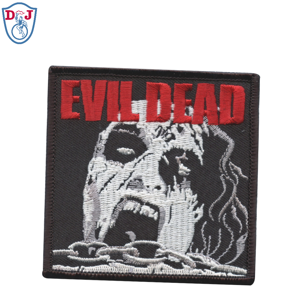 Personalizado Banda Musical Bordado Patches de Walking Dead