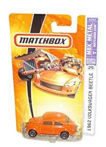 Mattel Matchbox '62 Volkswagen Beetle Blue