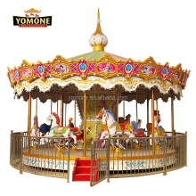 Yomone Hot Sale Christmas Rides Amusement Park Carousel Animal World for Sale
