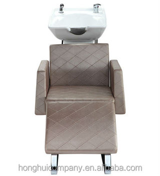 Classic White Royal Salon Sets Styling Chair Used Hair Shampoo Chair H-E039C