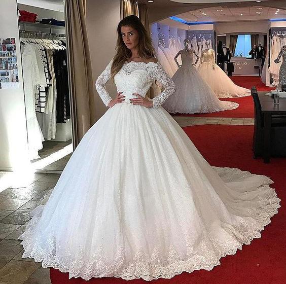 Grossiste Robe De Mariee Princess Arabe Acheter Les