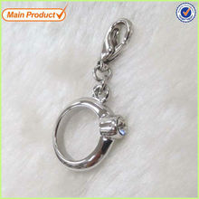 Hot Sale Wedding Gift Silver Birthstone Ring Necklace Pendant #16456