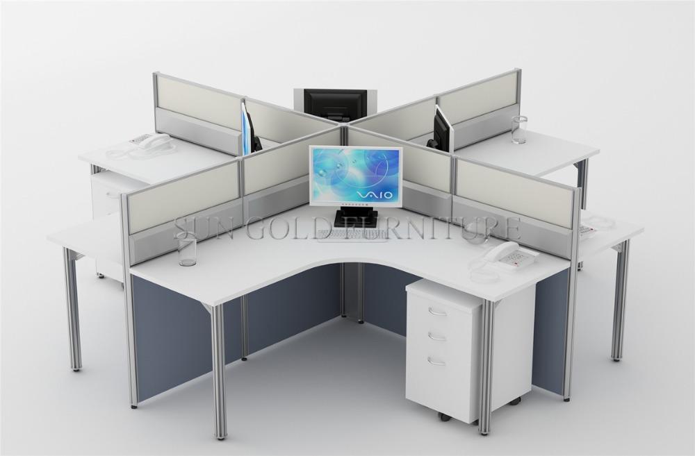 populaire h forme cabine bureaux meubles appel center bureau de poste de travail sz ws657. Black Bedroom Furniture Sets. Home Design Ideas