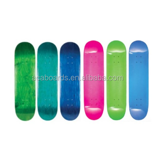"Customized High Quality 100% Canadian Maple Good brands of skateboards deck canadian maple 7.5""/7.75""/8"" /8.125''"