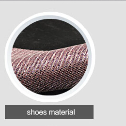 online service soft handfeeling and shinning design high heels shoes material