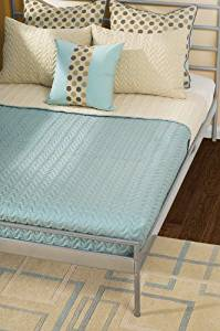 Rizzy Home BTP-806F Wave 4-Piece Cap Quilt Set, Full